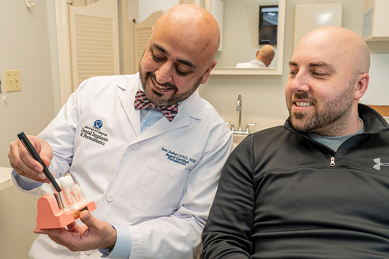 Knowledgeable doctors  in Greater Pittsburgh Dental Implants & Periodontics